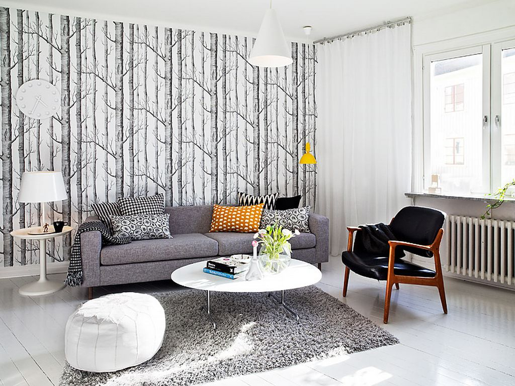 Wallpaper For Living Room Feature Wall Low Cost Painter Decorator Watford Hemel Hempstead