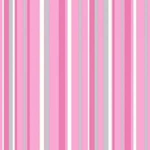 pink striped wallpaper