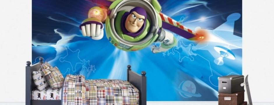 Woody And Buzz Lightyear Wallpaper Watford Decorators Chi...