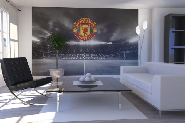 Watford decorators childrens kids bedrooms decorating for Man u bedroom ideas