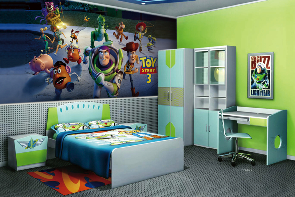 Lovely ... Buzz Lightyear Wall Mural Watford Decorators Childrens Bedrooms  Decorating Wallpaper ... Part 27