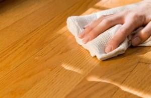 Varnish and Polishing a Wooden Floor
