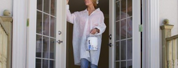 Painting Exterior Doors with White Gloss