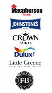 paint manufacturers logos