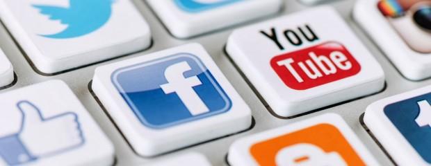 Facebook and Twitter Social Media