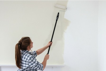 a landlord decorating their rental property
