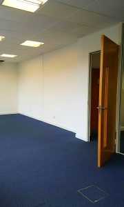 Painted office Croxley Green in Watford