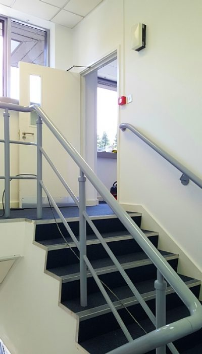 Painted office stairs Croxley Green in Watford