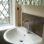 Bathroom decorated in central Watford